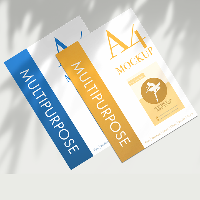 A4 Brochure and leaflet