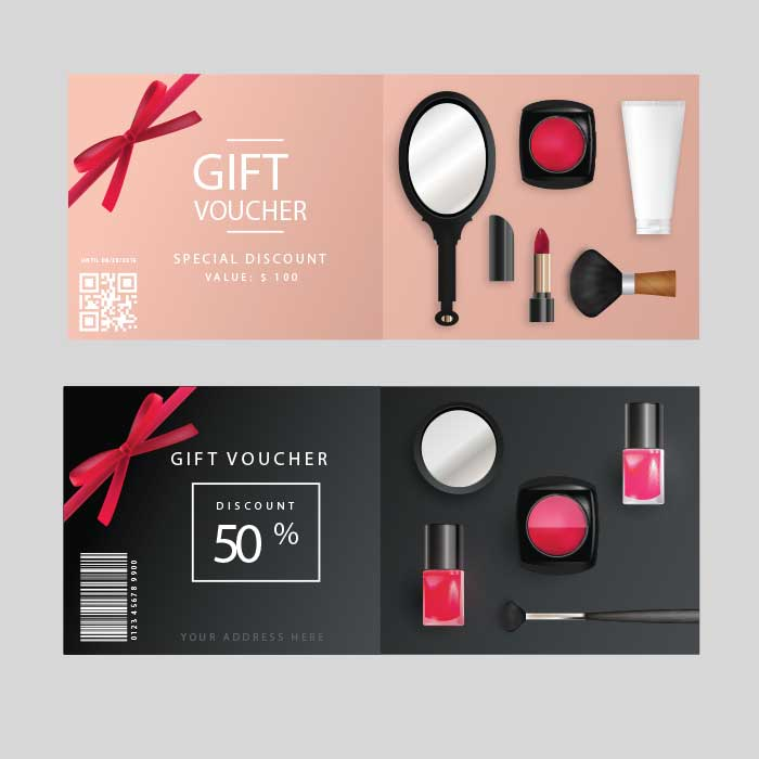 double-card-gift-voucher printing