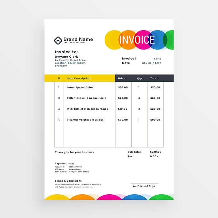 Docket Books & Invoice printing