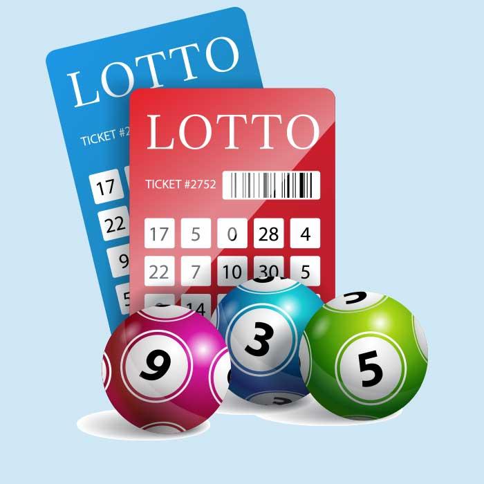 Lotto ticket printing