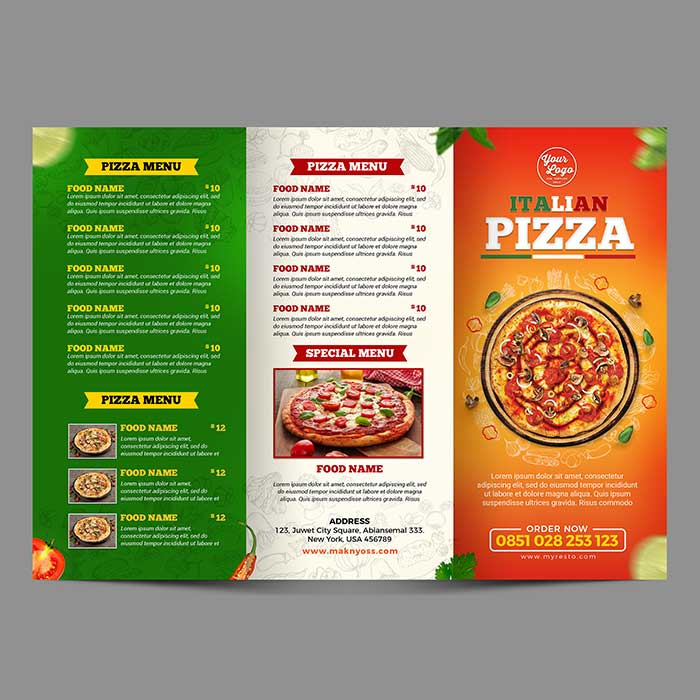 takeaway-menu printing