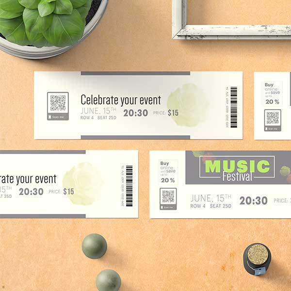 Function Ticket Printing